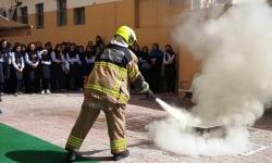 آموزش نکات ایمنی و استفاده از کپسولهای آتش نشانی